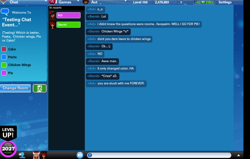 Ourworld Chat Room