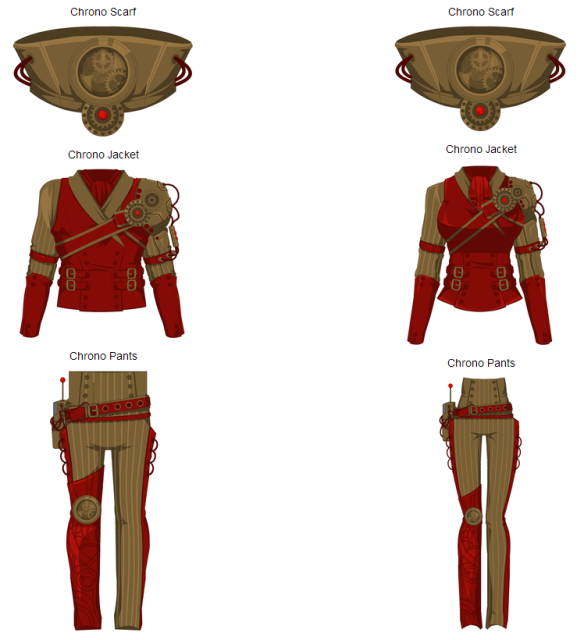 Chrono Clothing