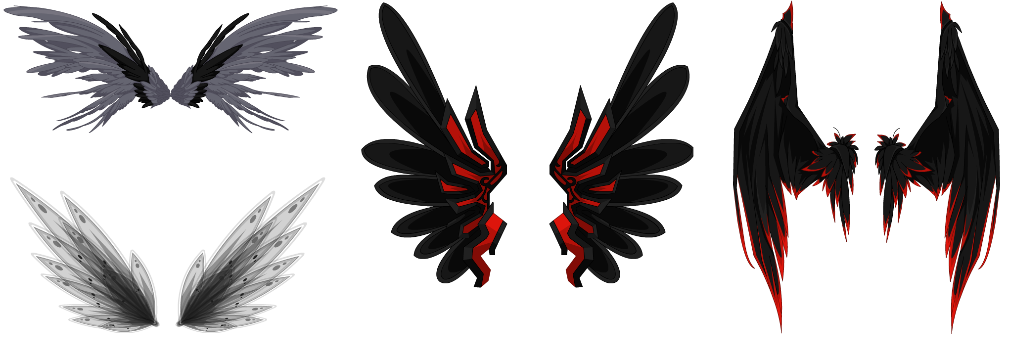 Dark Wings Dark10 dark hair dark wings