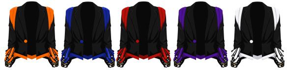 Butterfly Jacket Male