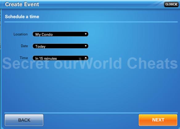 create event2