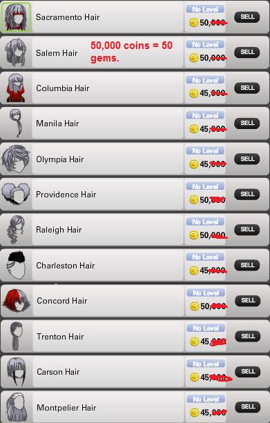 hair priceee