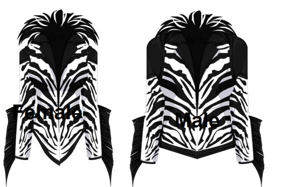 Zealous Zebra Jackets