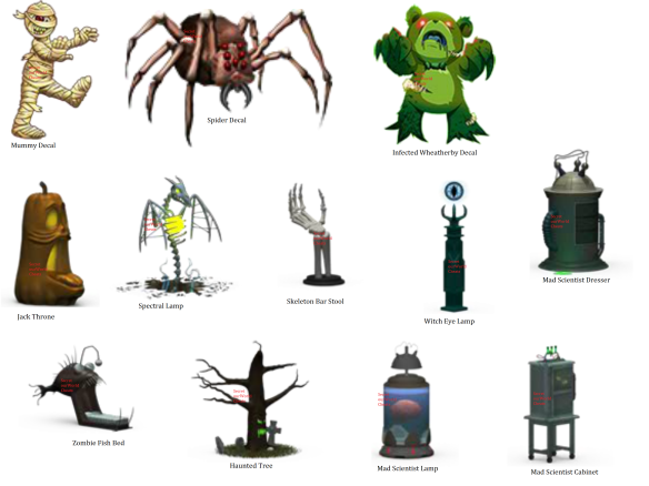 Halloween Condo Items