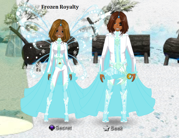 Frozen Royalty