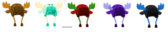 Knit Moose Hat