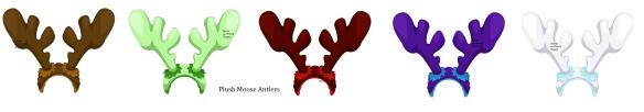 Plush Moose Antlers