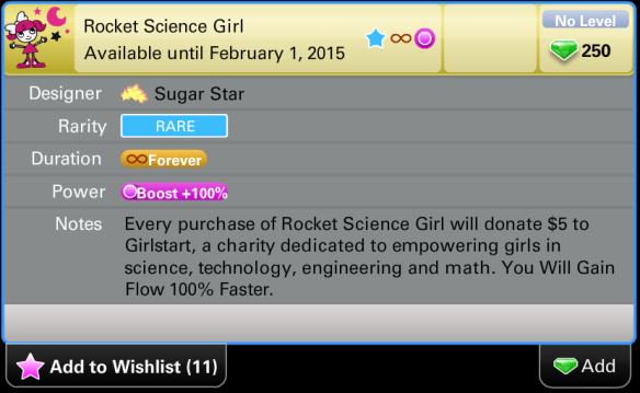 Rocket Science Girl Price